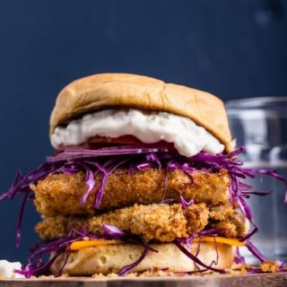 Vegan Fish Sandwich