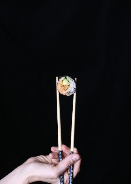 Lobster Mushroom Tempura Sushi Rolls