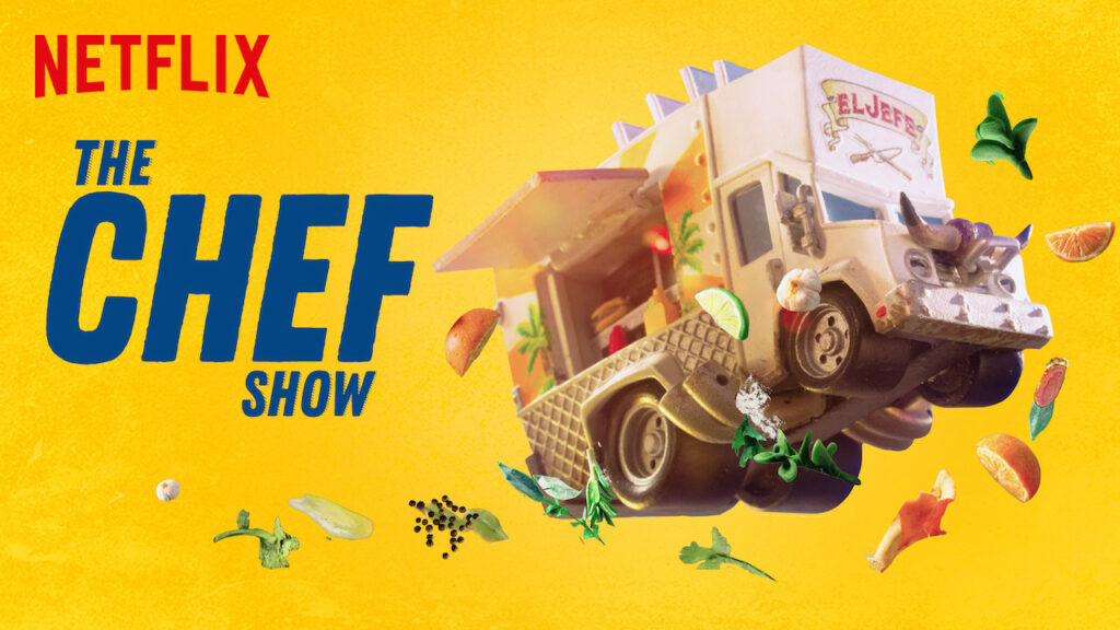 The Chef Show cover art from Netflix
