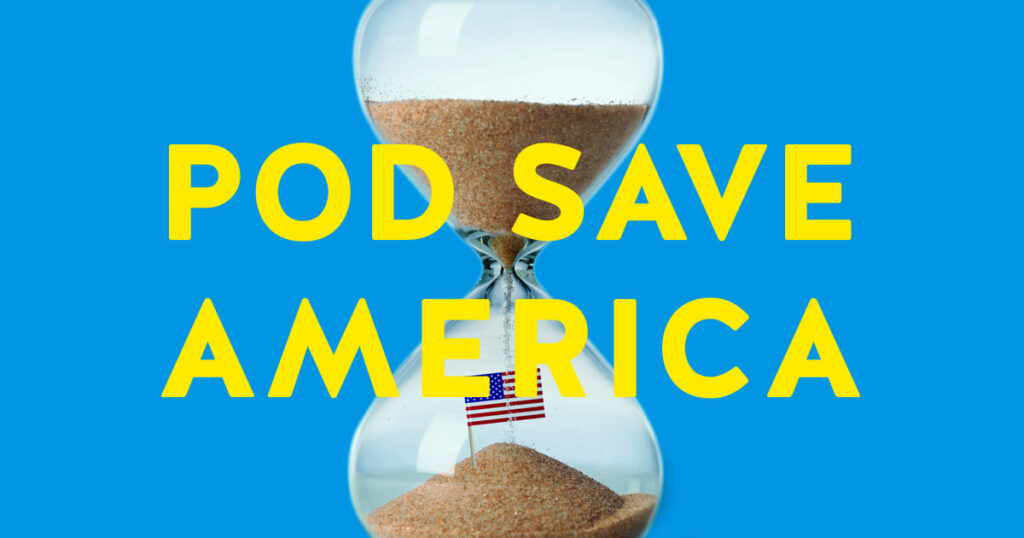 pod save america cover art