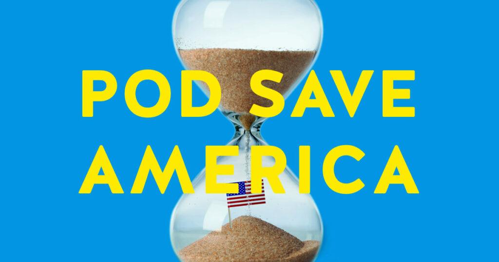pod save america cover art